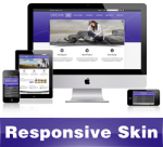 Dream-DarkSlateBlue Skin // Responsive Design // Mobile & Tablet // Slider Banner // DNN 5 & 6 & 7