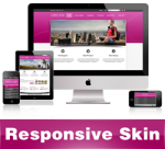 Dream-DeepPink Skin // Responsive Design // Mobile & Tablet // Slider Banner // For DNN 5 & 6