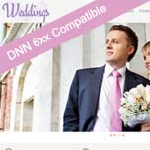 Wedding / Responsive DNN6.xx Skin / 960 Grid Responsive Layout / Mobile & Tablet / Slider Banner
