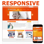 Children 121030 Responsive DNN Skin / Mobile Skin / Jquery Slider / Gifts / Education / Kids