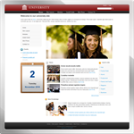 University web 2.0 DNN Skin version 01.02.03