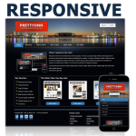 Dark 121103 Responsive DNN Skin / Mobile Skin / City / Night Clubs / Games