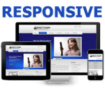 Cobalt Blue from PT Responsive DNN Skin Pack 02 / Mobile Business / SEO / CSS3 / Professional