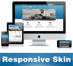 Dream-DodgerBlue Skin // Responsive Design // Mobile & Tablet // Slider Banner // DNN 5 & 6 & 7