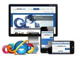 Responsive_B003.06_Desktop/Tablet/Mobile Skin**3 Homepage Option*2 Inner Page*Any Business_Navy Blue
