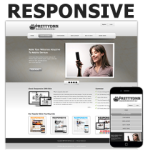 Traffic Grey - PT Responsive DNN Skin Pack 02 / Mobile Business / SEO / DIV & CSS / Professional