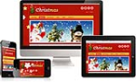 (DNN 5/6) Christmas Mobile Skin 008 Desktop Ipad Mobile Responsive//12Grid//Typography//Social//Blog