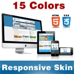 Classic Skin (15 Colors) //Grid Responsive Layout //Mobile & Tablet //HTML5 Slideshow //DNN5 & 6 & 7