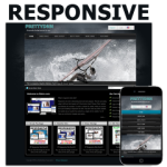 Sports 121127 Responsive Skin / HTML5 & CSS3 / Touchable Slider / 960px Grid Layout / Black