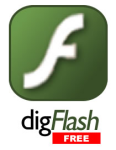 digFlash 3 FREE!  -  Display SWF, FLV, MP3, MP4, WMA, WMV