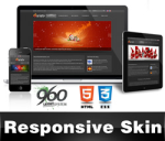 Variety-Black Skin //Grid Responsive Layout //Mobile & Tablet //HTML5 Slideshow //DNN 5&6&7
