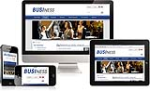 (DNN 5/6/7) Business Mobile Skin 068 Mobile Desktop Ipad /Responsive/PhotoAlbums/Gallery/Social/Blog