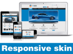 Exceed-DodgerBlue Skin // Responsive Design // Mobile & Tablet // Slider Banner //For DNN 5 & 6 & 7