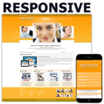 Gold of PT Responsive DNN Skin Pack 03 / HTML5 & CSS3 / Slider / 960px Grid / Professional Business
