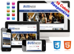 (DNN5/6/7) 10 Colors Business Mobile DNN Skin Pack 003 HTML5/CSS3/Responsive/Gallery/Social/Blog