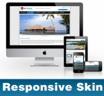 Extensive-DodgerBlue Skin // Responsive Design // Mobile & Tablet // Slider Banner // DNN 5 & 6 & 7