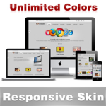 Custom Skin // Responsive Skin // Unlimited Colors //Mobile & Tablet Slideshow // DNN5 & 6 & 7