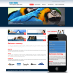 Responsive/Blue/Sofa Mobile/PC 12034 with Banner slider and Mobile skin/compatible with DNN4/5/6