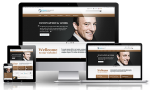 Business DNNSmart WZ0006 Burlywood Responsive Skin - Grid Responsive Layout, Mobile, Tablet
