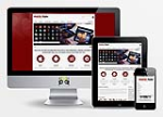 MobileNuke DarkRed  // 1140 Grid // Responsive // Typography Portal Templates // Social // DNN7/6/5