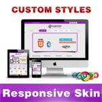 Superior Skin // DarkViolet // Responsive Skin// Unlimited Colors// Mobile & Tablet // DNN 5 & 6 & 7