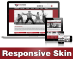 Business-FireBrick Skin // Responsive Design // Mobile & Tablet // Slide Banner // DNN 5 & 6 & 7