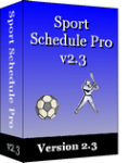 Sport Schedule Pro Enterprise Version 2.3