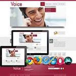 Responsive_ Vioce Service Multi-Purpose Skins 13077 with slider banner.compatible with DNN4.5.6.7