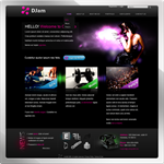 DJam web 2.0 DNN Skin version 01.01.09