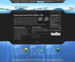 Twister Skin W3C XHTML CSS DIV Based with Multiple Backgrounds and MenuStyles DNN7 & 6