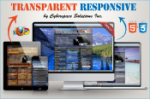Transparent Responsive 14+ Colors
