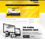 Software Gold  Mobile and Desktop Responsive Skin & MGS Module & Typography  Portal Templates