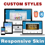 Optimum Skin // DodgerBlue // Responsive Retina // Typography // Unlimited Colors // DNN 5/6/7