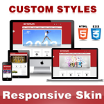 Optimum Skin // FireBrick // Responsive Retina // Typography // Unlimited Colors // DNN 5/6/7