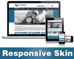 Business-SteelBlue Skin // Responsive Design // Mobile & Tablet // Slider Banner // DNN5 & 6 & 7