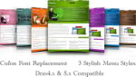 Inverse DNN Skin W3C compliant with Smooth Fonts, Banners, Java Menu With & without Widget DNN7