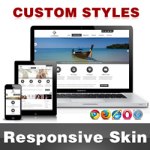 CleanWeb Skin // Black // Responsive // Unlimited Colors // Typography // Mobile HTML5 // DNN 5/6/7