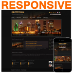 Night Club 130214 Responsive DNN Skin / HTML5 & CSS3 / Slider / 960px Grid / Mobile / Pubs