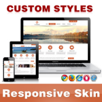 CleanWeb Skin // Chocolate // Responsive // Unlimited Colors // Typography // Mobile // DNN 5/6/7