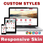 CleanWeb Skin // FireBrick // Responsive // Unlimited Colors// Typography// Mobile HTML5// DNN 5/6/7