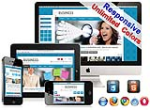 (DNN5/6/7) Unlimited Colors Responsive DNN Skin Pack 001-V2 Skin with CustomPanel/Gallery/Blog