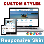 CleanWeb Skin // DodgerBlue // Responsive // Unlimited Colors // Typography // Mobile // DNN 5/6/7