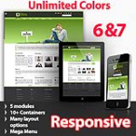 Athena Olive Green - Unlimited Colors, Images, Layouts - 5 Free Modules - Responsive Skin Mobile