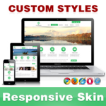 CleanWeb Skin // LimeGreen // Responsive // Unlimited Colors // Typography // Mobile // DNN 5/6/7