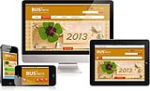 DNN5/6/7 Business Mobile DNN Skin 124 Mobile Desktop iPad Responsive/PhotoAlbums/Gallery/Social/Blog
