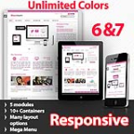 Maximum 143 Pink - Unlimited Colors, Images, Layouts - 5 Free Modules - Responsive Skin Mobile