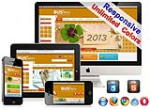 (DNN5/6/7) Unlimited Colors Business Responsive DNN Skin Pack 006 with CustomPanel/Gallery/Blog