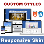 Optimum Skin // RoyalBlue // Responsive Retina // Typography // Unlimited Colors // DNN5/6/7