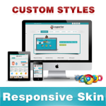 Superior Skin // DeepSkyBlue //Responsive Skin //Unlimited Colors //Tablet & Mobile // DNN 5 & 6 & 7