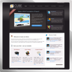 Cube web 2.0 DNN Skin version 01.03.11